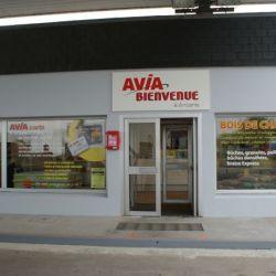 Façade Station Avia à Ancenis
