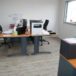 Rénovation d'un bureau murs et sol