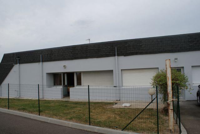 Façade arrière Station Avia Ancenis
